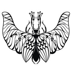 Tattoo Insect vector image