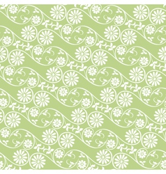 Background swirling floral elements vector image vector image