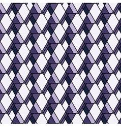 purple rhombs pattern Geometric abstract vector image
