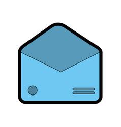 envelope empty paper vector image vector image