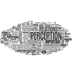 what s important about pr text word cloud concept vector image