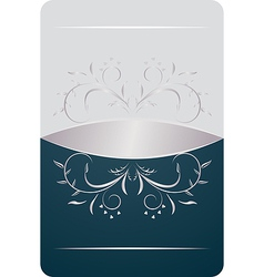 Beautiful luxury card or invitation vector