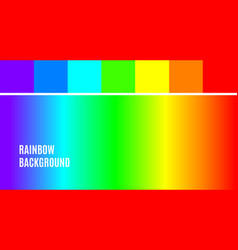 bright color rainbow background abstract vector image