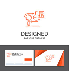 business logo template for analysis business vector image