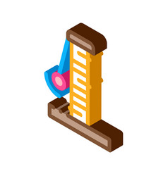 Claws clapper isometric icon vector