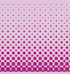 Color abstract repeating halftone circle pattern vector