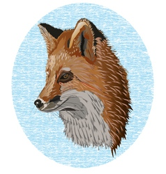 Old fox vector