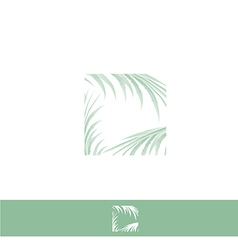Palm Leaf Logo vector