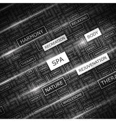 SPA vector image