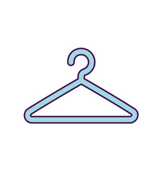 wire clothespin isolated icon vector image
