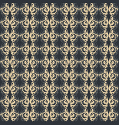 Abstract vintage pattern fabric vector