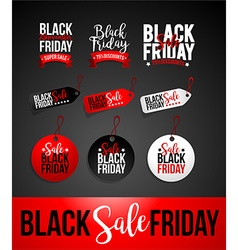 Black Friday Sale Discount Banner vector image