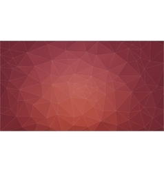 Brown abstract background consisting of triangles vector
