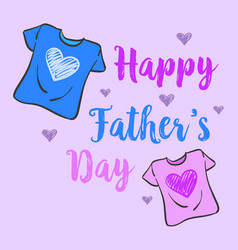 Collection stock father day celebration vector