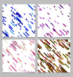 Colored abstract diagonal stripe pattern vector