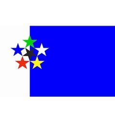 Flag of FOTW vector image