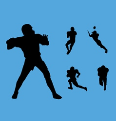 Football collection vector