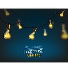 Lighting garland vector
