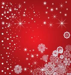 snowflake decoration vector image