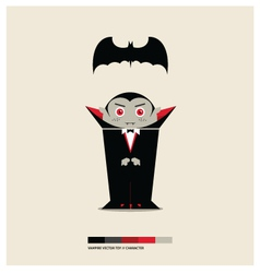 VAMPIRE TOY vector image