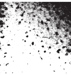 Messy Blotted Texture vector image