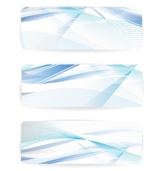 abstract background with waves and lines vector image