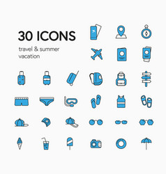 collection icon in form casual vector image