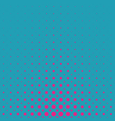 color abstract geometric halftone dot pattern vector image