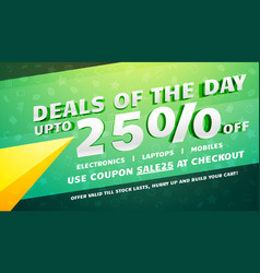 creative deals discount coupons and sale voucher vector image