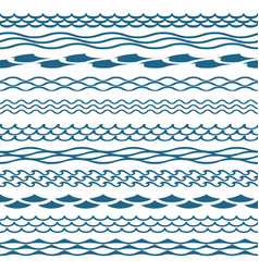 decoration waves clipart vector image