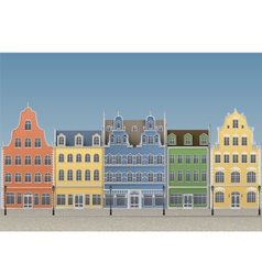 European Old Town vector image