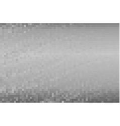 gray pixel background vector image