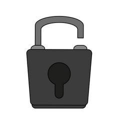 Lock icon image vector