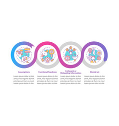 Problem solving issues infographic template vector
