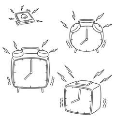 Set of clock vector