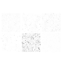 set seamless grunge dirty texture with vector image