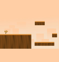 wood style game background collection vector image