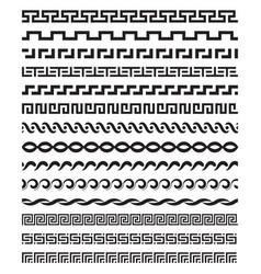 old mediterranean greek mythology pattern vector image vector image