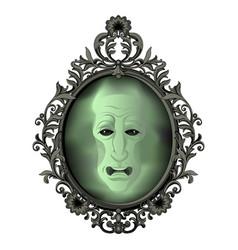 the magic mirror vector image vector image