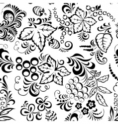 leaves seamless vector image vector image