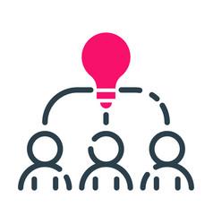 Motivation concept idea icon business strategy vector