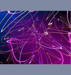 abstract neon lights background vector image
