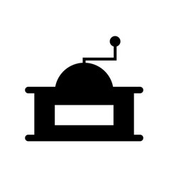 coffee grinder icon vector image