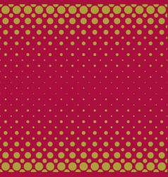 Color halftone circle pattern background vector