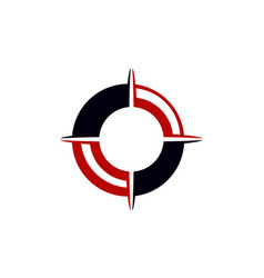 Compass marketing business distribution vector