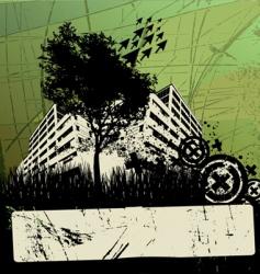 grunge urban design vector image