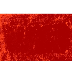 Red Distressed Plate vector image