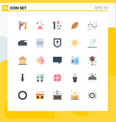 Set 25 modern ui icons symbols signs for sport vector