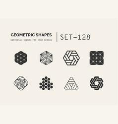 Set of universal minimal geometric vector