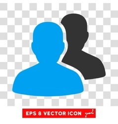 User Accounts Eps Icon vector